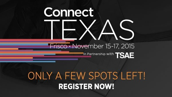 Image for Connect Texas Registration Closes October 7